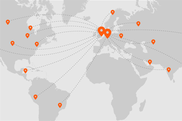 Our global print API network